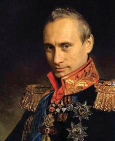 Tsar Vladimir I of Russia